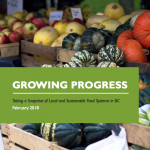 Growing Progress: Taking a snapshot of local and sustainable food systems in BC