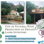 City of Victoria: Food Production on Private Lands Inventory